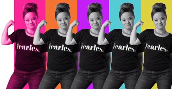 Special Olympian Becomes First Model with Down Syndrome to Land Beauty Campaign