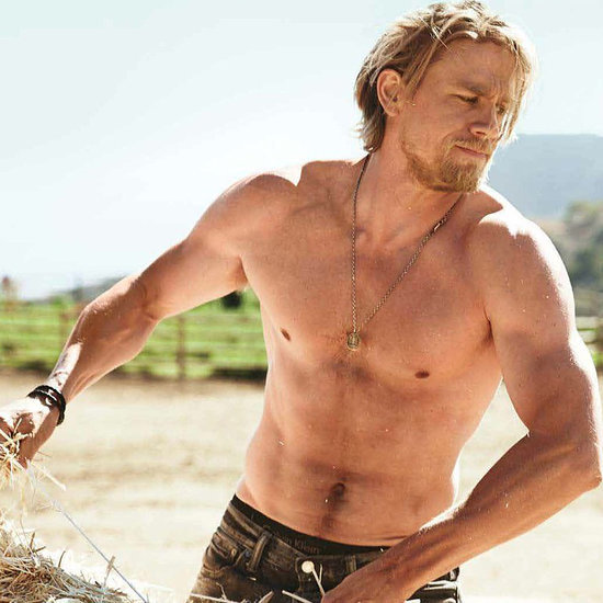 Shirtless Charlie Hunnam Pictures and GIFs