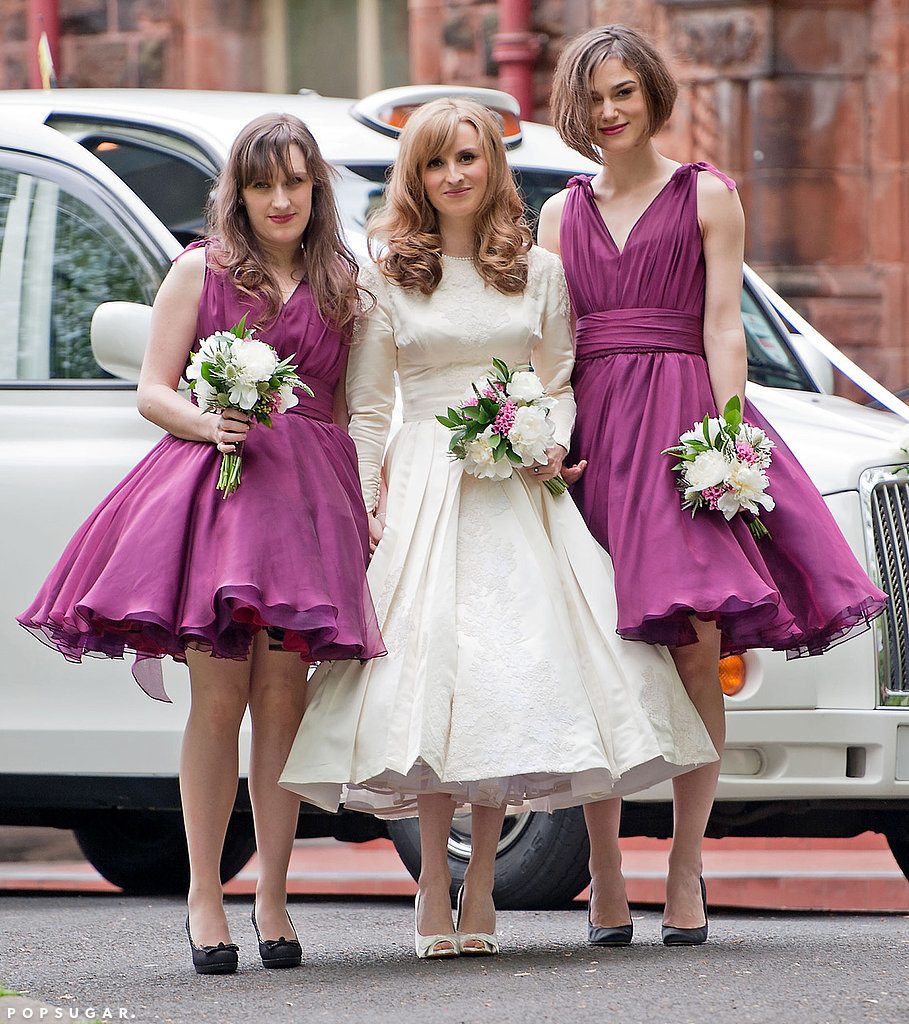 Back in 2011, Keira Knightley was a bridesmaid at her brother, Caleb's wedding to designer Kerry Nixon in Scotland.