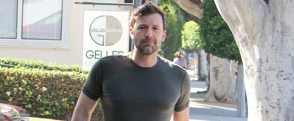 Ben Affleck Runs Errands in LA With the Help of His Tiny T-Shirt and Bulging Biceps