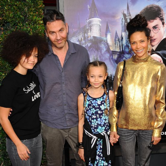 Photos of Thandie Newton, Ol Parker, and Their Daughters