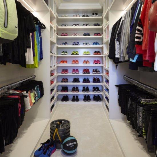 Khloe Kardashian's Fitness Closet