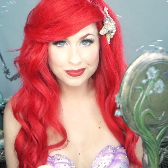 The Little Mermaid Makeup Tutorial