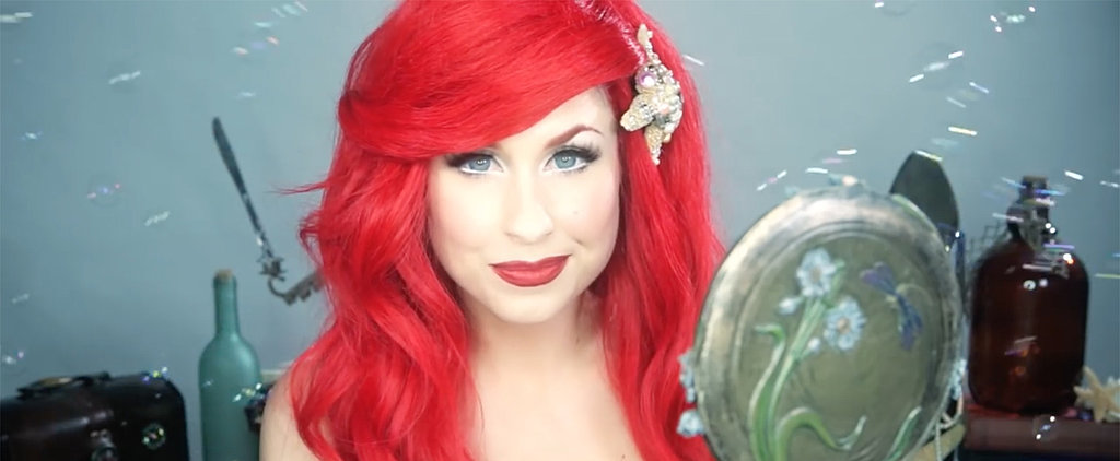 You Don't Need a Dinglehopper to DIY Ariel's Beauty Look