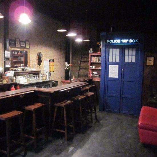 Doctor Who TARDIS Bar | Video