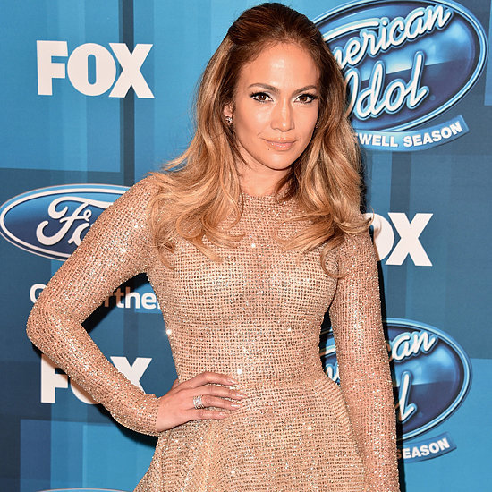 Jennifer Lopez's Gold Dress at American Idol Finale 2016