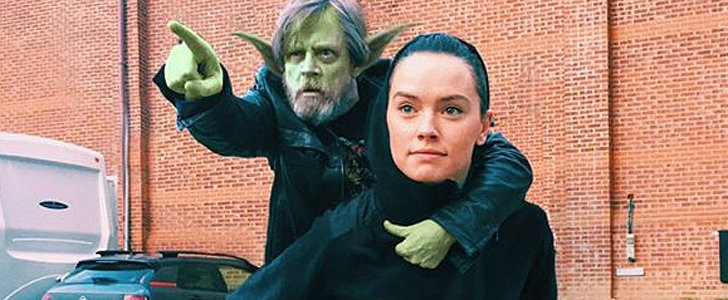 Fans Are Photoshopping This Picture of Mark Hamill and Daisy Ridley — and It's AMAZING