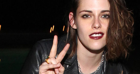 Kristen Stewart Ditches Her Brunette Locks For A Bleached 'Do