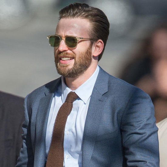 Chris Evans Out in LA April 2016