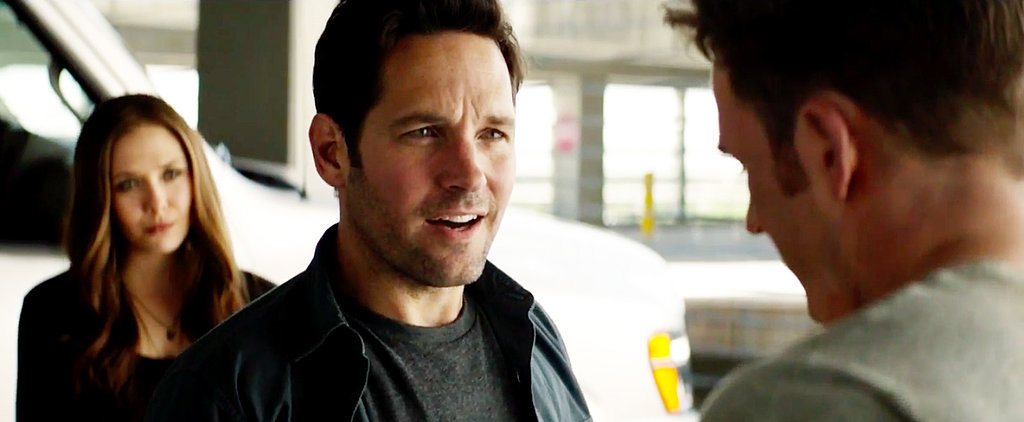 Even Ant-Man Can't Contain His Excitement Over Meeting Captain America in This Clip