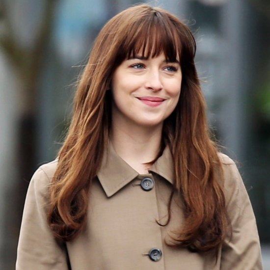 Dakota Johnson Fifty Shades Darker Set Pictures