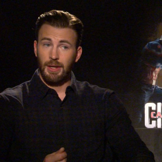 Chris Evans Interview For Captain America: Civil War