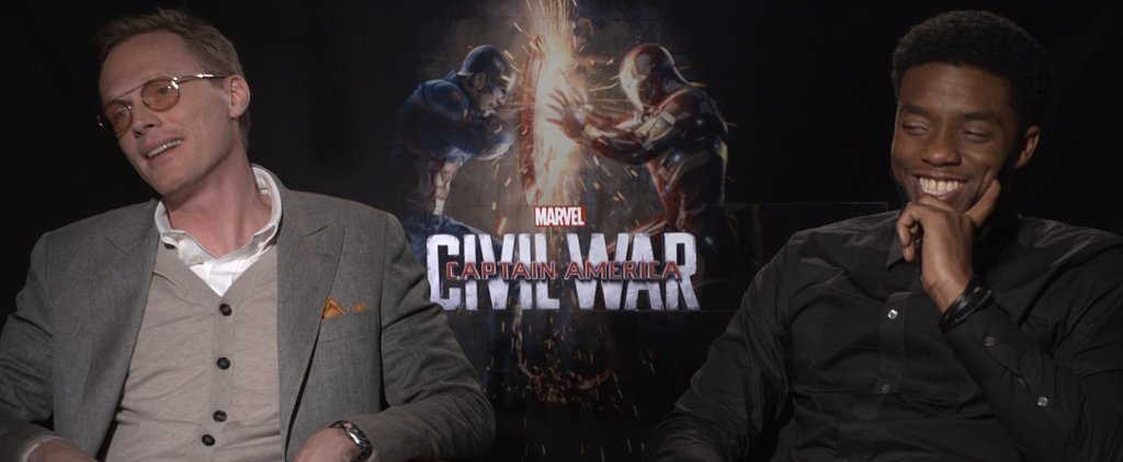 """Marvel Newbies Chadwick Boseman and Paul Bettany Call Being Avengers a """"Blessing"""""""