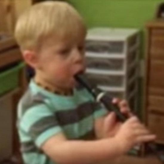 Deaf Boy Hears Recorder