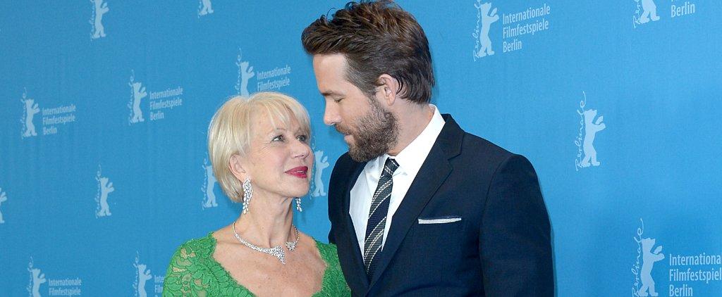 27 Celebrities Who Couldn't Resist the Flirtatious Charm of Helen Mirren