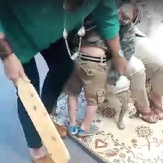 Mother Posts Videos of Son Being Paddled in School