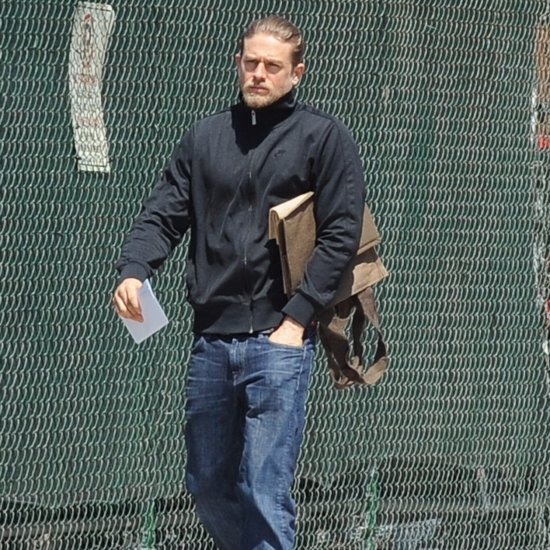 Charlie Hunnam Out in LA April 2016