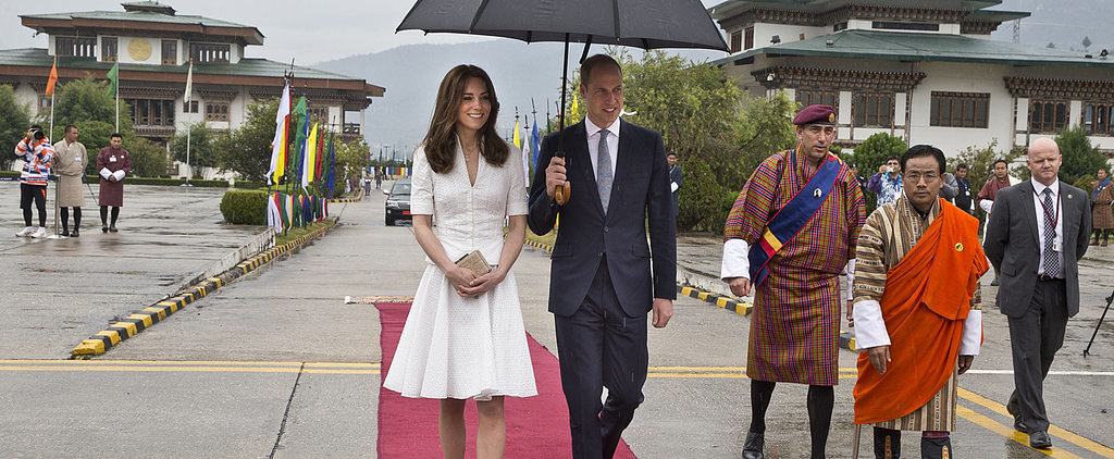 The Duchess of Cambridge Wore the Perfect Outfit For a Peaceful Send Off in Bhutan