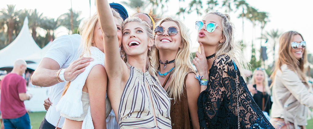 These Celebrity 'Grams Prove That Even Traveling to Coachella Is a Full Fashion Event