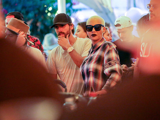 Scott Disick and Amber Rose Meet Up at VIP Bar in Coachella While the Kardashians Head to Iceland