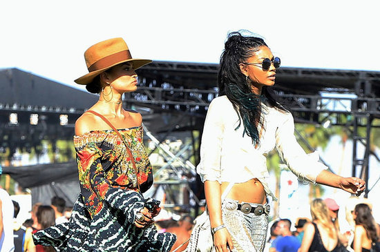 Here's What All The Celebrities Wore To Coachella This Year