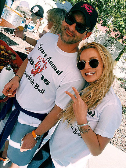 Yummy! Britney Spears Celebrates Brother's Birthday at Annual Family Crawfish Boil