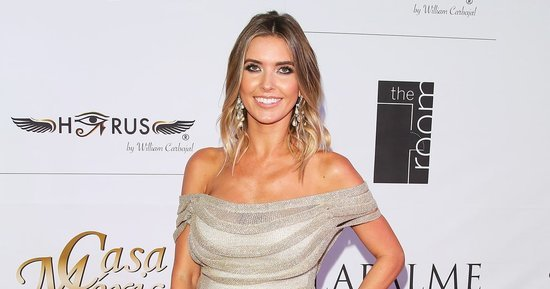Audrina Patridge Glows in Hawaii, Shows Off Growing Baby Bump in Bikini: Photo