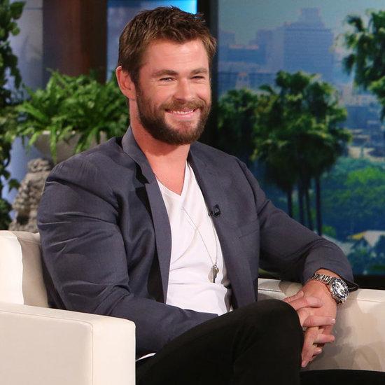 Chris Hemsworth Talks Kids on Ellen DeGeneres Show 2016