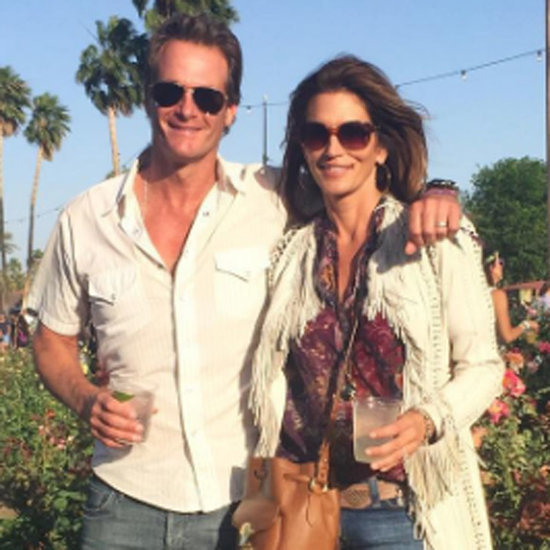 Cindy Crawford and Family at Coachella 2016
