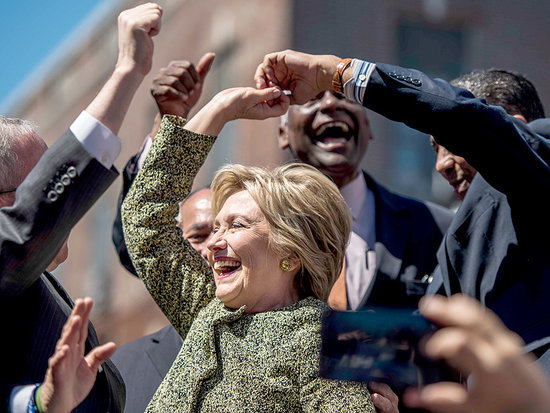 New York Homestretch: Hillary Dances the Merengue; Danny DeVito Rallies for Bernie