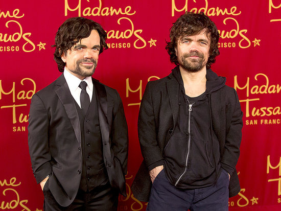 Game of Clones? Peter Dinklage Unveils His Madame Tussauds Wax Figure