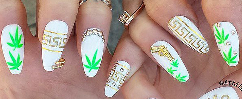 These Weed-Inspired Nail Art Ideas Will Enhance Your 4/20 Happiness
