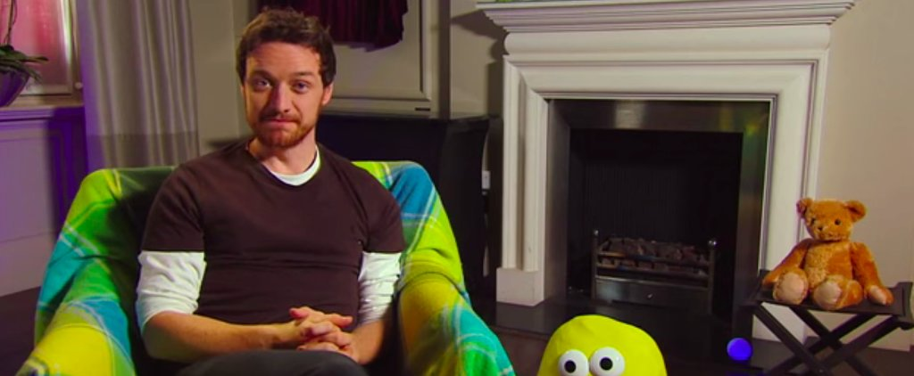 James McAvoy Reading Children's Books Is Something We All Need in Our Lives