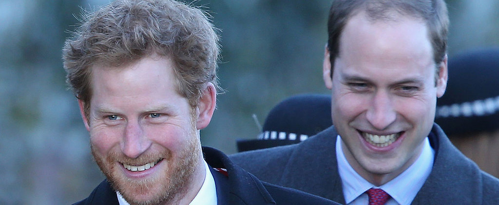 Prince William and Prince Harry Share Quite a Laugh While Watching Home Movies of Their Dad as a Toddler