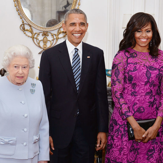 Barack and Michelle Obama With the British Royal Family 2016