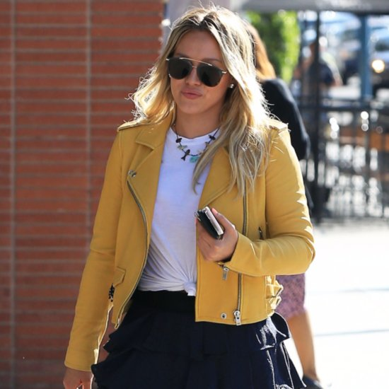 Hilary Duff Out in LA April 2016