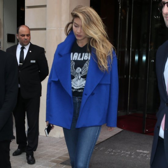 Pictures of Gigi Hadid Wearing Jeans