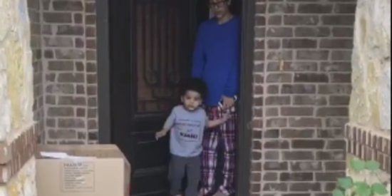 This 2-Year-Old Saying Goodbye To Grandma Is Too Cute For Words