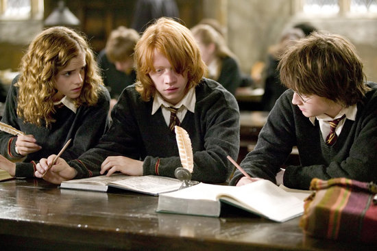 What You & Your Friends Are Like During Finals, as told by the Harry Potter Trio