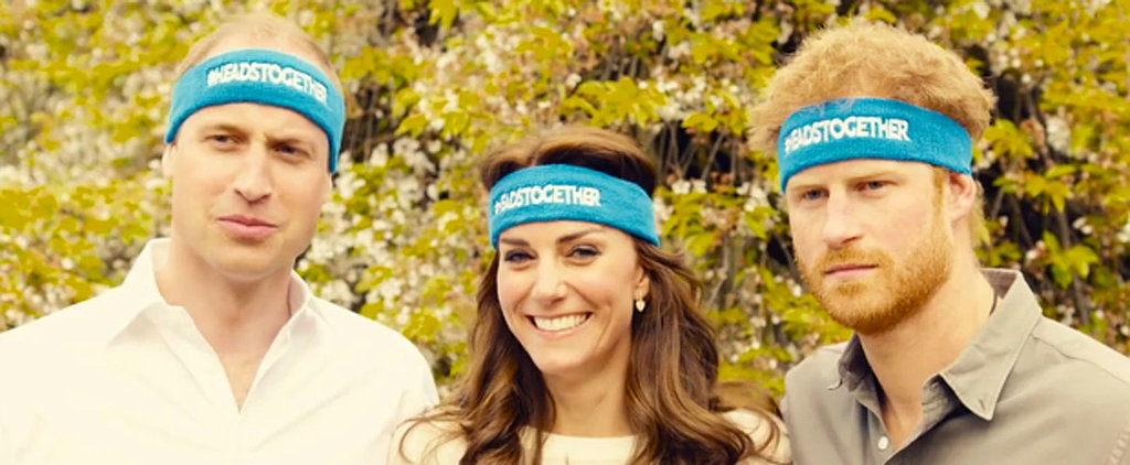 Watch Kate Middleton Try (and Fail) to Keep a Straight Face in This Video With William and Harry