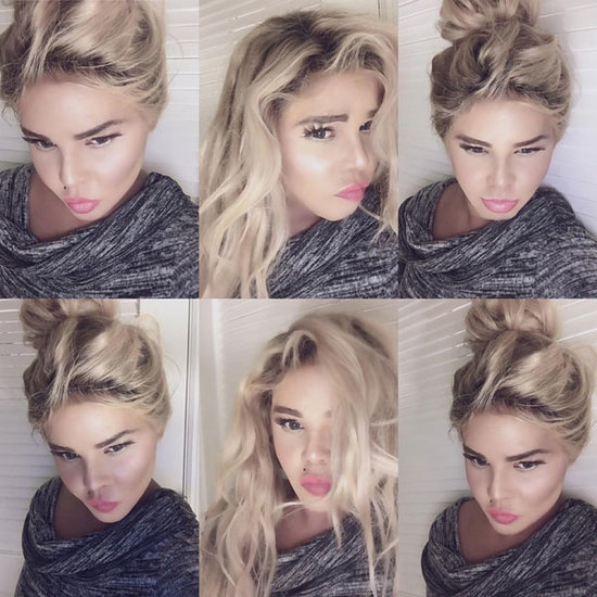 Lil' Kim Is Nearly Unrecognizable in a Series of Blonde Hair, Air-Brushed Selfies - and Twitter Takes Notice