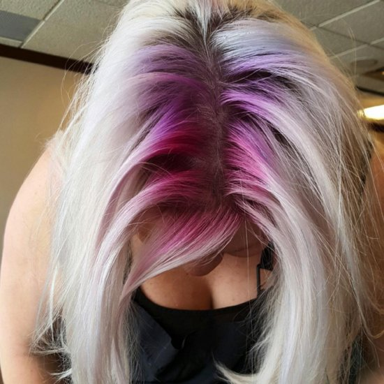 Rainbow Roots Hair Inspiration