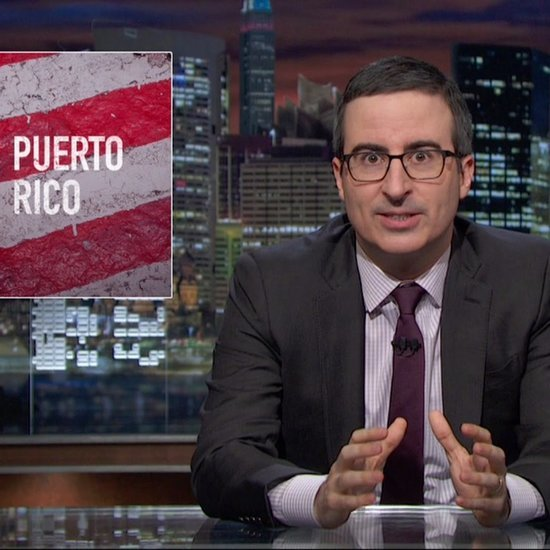 John Oliver's Puerto Rico Economic Crisis Video