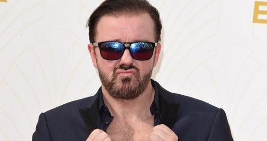 Ricky Gervais Doesn't 'Give a F*ck' If Hollywood Can't Take a Joke