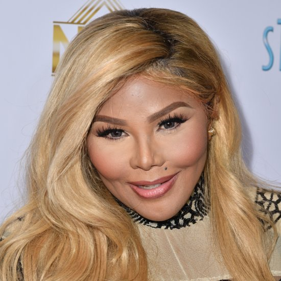 Lil' Kim With Blonde Hair | April 2016