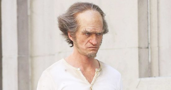 Neil Patrick Harris Looks Unrecognizable as Count Olaf on Set of 'A Series of Unfortunate Events'