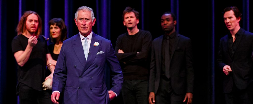 Prince Charles Schools Benedict Cumberbatch, Judi Dench, and Sir Ian McKellan on How to Act