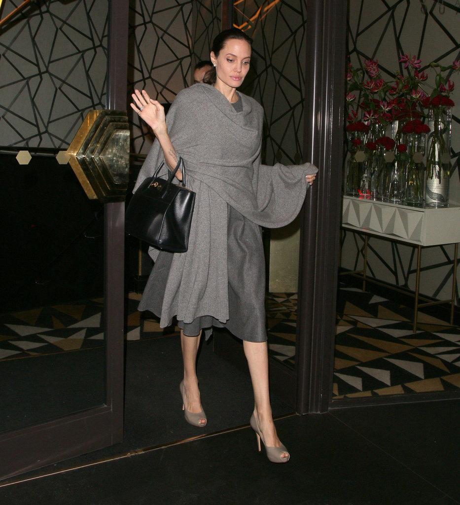 Shop For a Shawl Like Angelina's