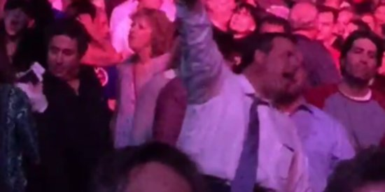 Chris Christie Breaks Out Best Dad Moves At Springsteen Concert