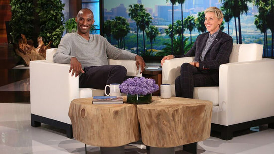 Kobe Bryant Sits Down For First Post-Retirement Interview, Plays Prank With Ellen DeGeneres